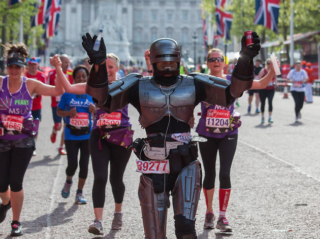 London Marathon Robocop LDN PHYSIO
