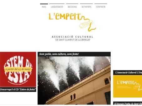 Estrenem la web de L'Empelt!