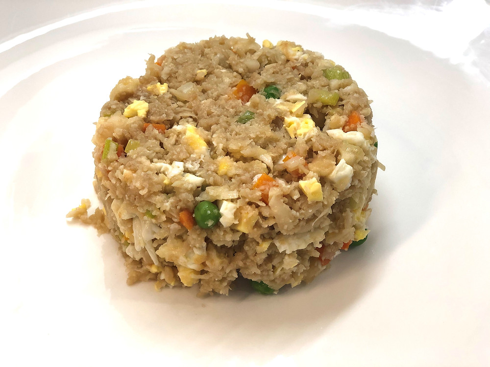 Cauliflower fried rice (low-carb)