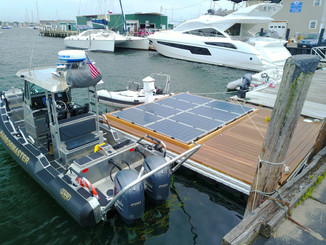 Local Company Introduces Solar Powered Boat Charging Stations - ABC 6 News