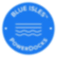 POWERDOCKS BLUE ISLES LOGO (3x3)-WHITE.j