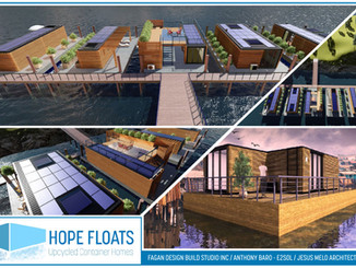 Power Docks / Fagan Design Build Studio Win Honorable Mention in Design Competition