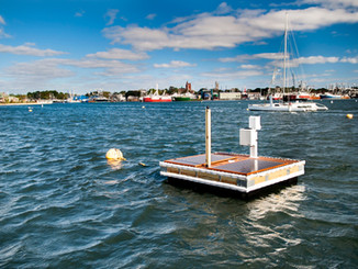 """First """"Floating Microgrid"""" Mooring Platform Enhances Resilience at New Bedford Harbor"""