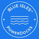 POWERDOCKS BLUE ISLES LOGO (3x3)-WHITE-W