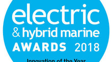 PowerDocks Wins 2018 Electric & Hybrid Marine Industry Innovation of the Year Award