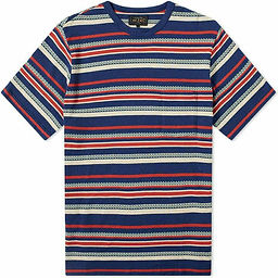yarn dyed round neck t-shirt manufacturers exporters wholesale in tirupur - creative appar