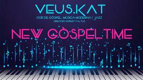 """El cor de Gòspel VEUS.KAT presenta """"New Gòspel Time"""" el diumenge 16 de maig 2021 a l' Auditori"""