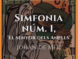 """Simfonia núm.1. """"El senyor dels anells""""amb la BSUM de Lleida, dia 23 de maig 2021 a l' Auditori."""