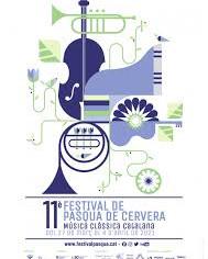 11è Festival de Pasqua de Cervera. Música clàssica catalana, del diumenge 27/03/2021 al 04/04/2021