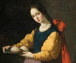 Santa Àgueda, 5 de febrer, patrona de les dones.