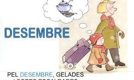 Benvingut DESEMBRE, el darrer mes de l' any! I quin any!