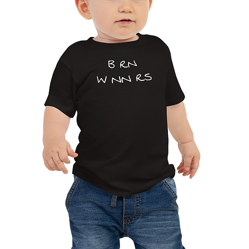 BRN WNNERS TODDLERS BLCK/WHITE