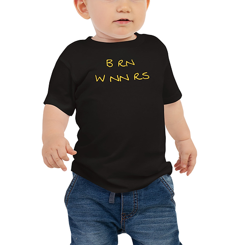 BRN WNNERS TODDLERS BLCK/GOLD