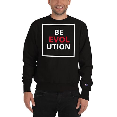 BE LOVE UTION CHAMPION HOODIE BLK