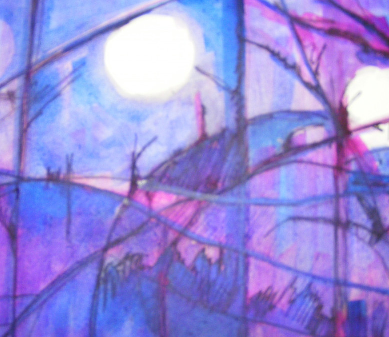Moon And The Willow Tree (2)
