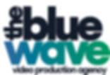 2018 The Blue Wave Logo Blue Text Grad.j
