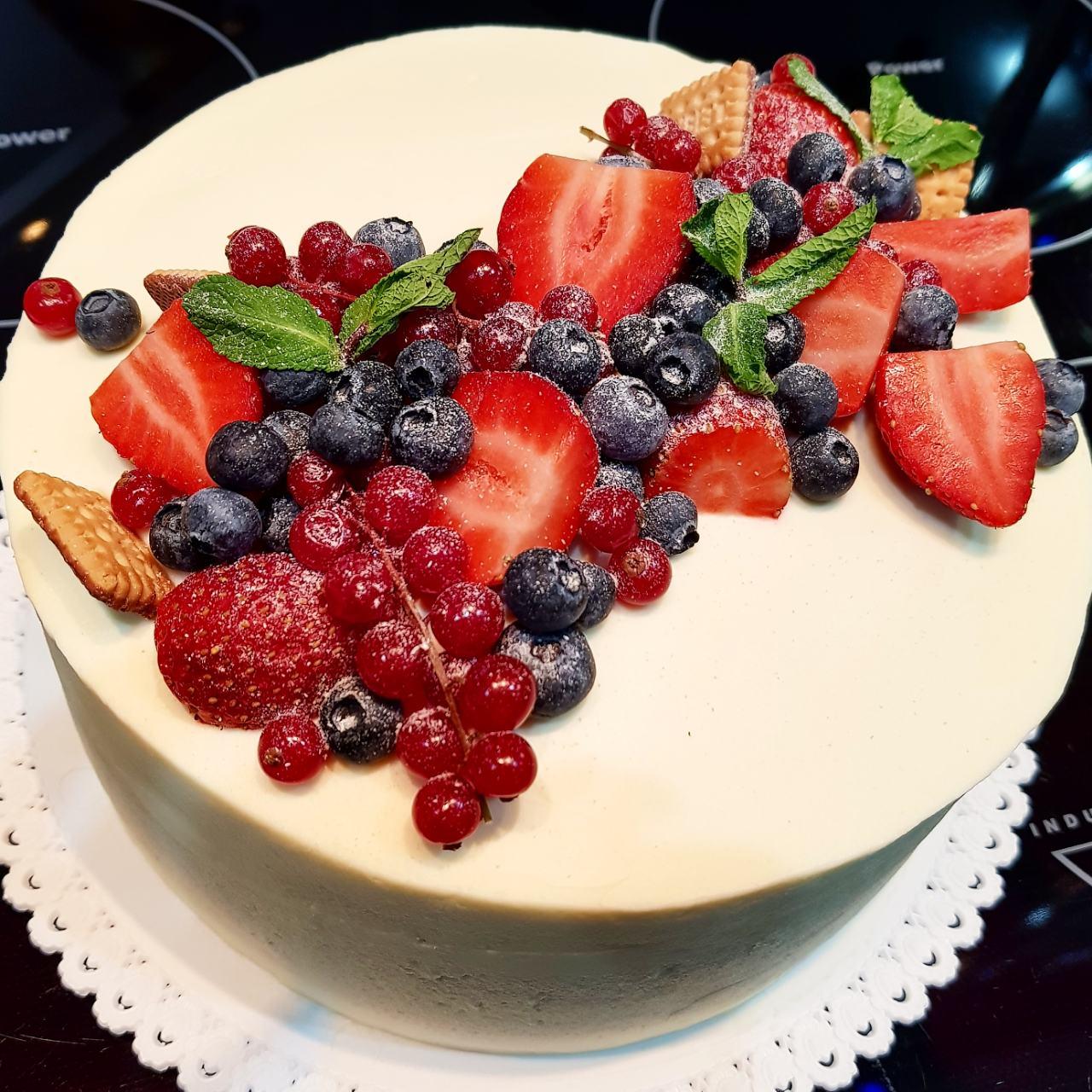 Наш новый десерт