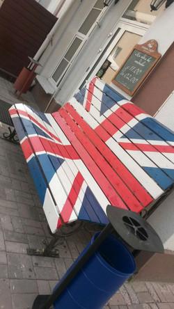 Скамейка для селфи