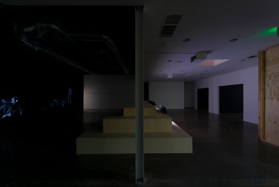 MELT AWAY BEFORE YOU Installation at LAXART | Los Angeles, CA  USA 2018