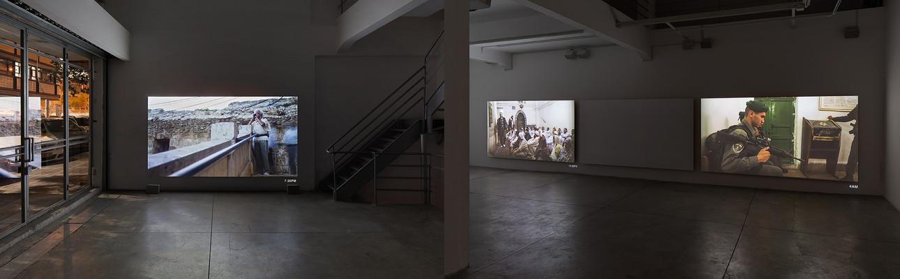 ISHMAEL installed at Braverman Gallery Tel-Aviv.