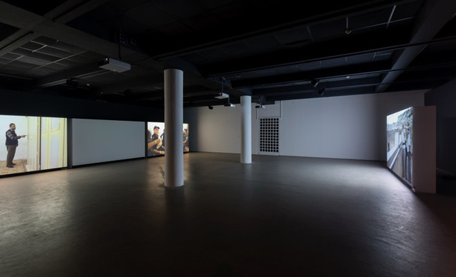 ISHMAEL at the Helena Rubinstein Pavilion, Tel-Aviv Museum of Art.