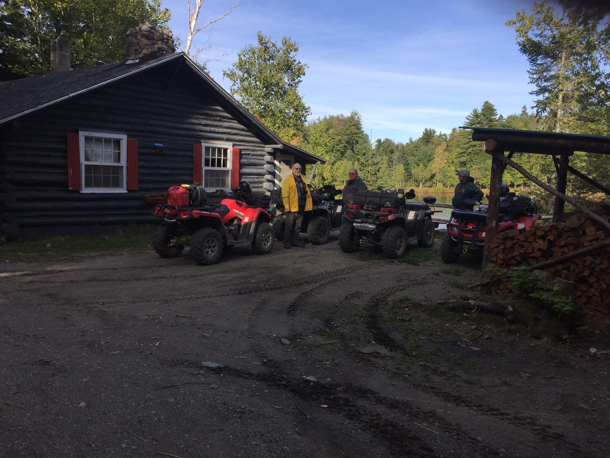 ATV's off the Sunrise Trail