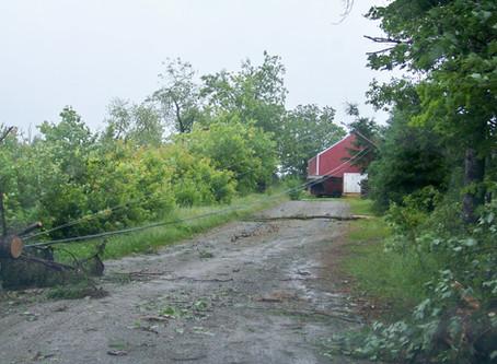 July 2014 Hurricane Arthur damage