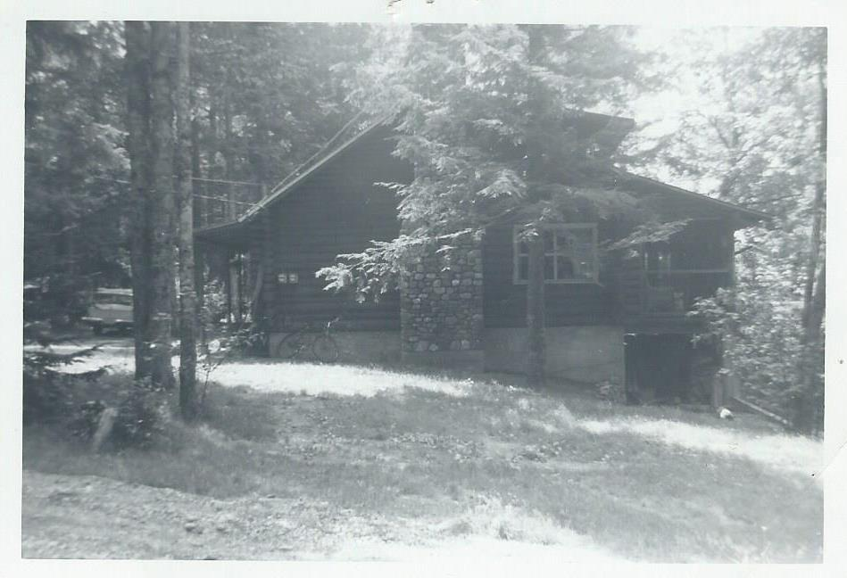 Robinson house side, July 1963