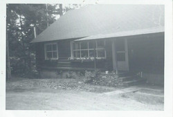 Robinson house front, July 1963