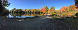 360 view of the pond