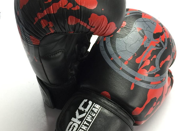 Bloody Knight Boxing Gloves