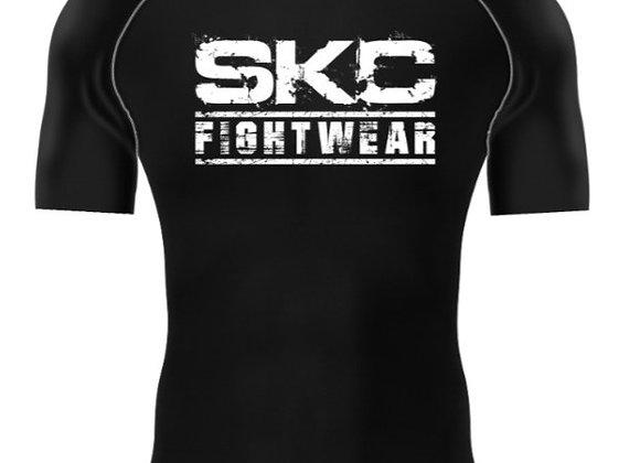 SKC Logo Short Sleeve Rash Guard