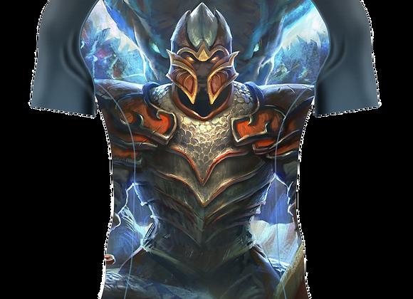 Double Dragon Short Sleeve Rashguard Adult/Youth