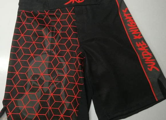Seeing Red Grappling Shorts