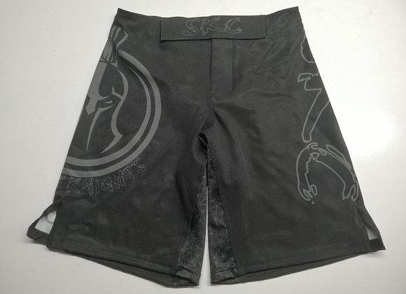 Black Logo Grappling Shorts