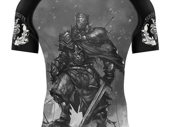 Dark Knight Short Sleeve RashGuard Adult/Youth