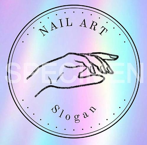 Nail Art Hand
