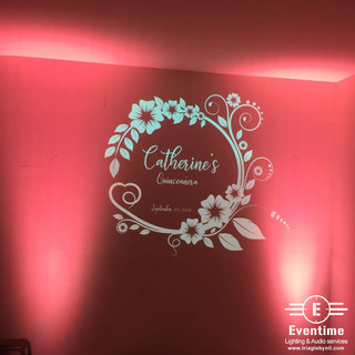 Gobo projector and uplighting
