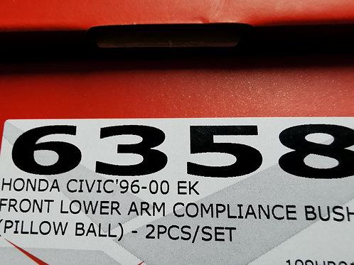 HR civic EK front lower arm rear compliance bush pillowball