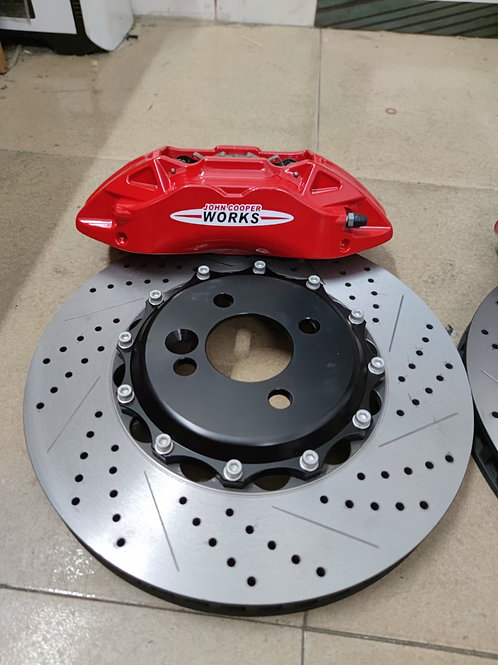 JCW Mini Cooper Bolt on brake upgrade
