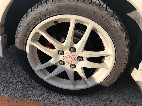 Original Integra DC5 Type R 17in alloys without tyres