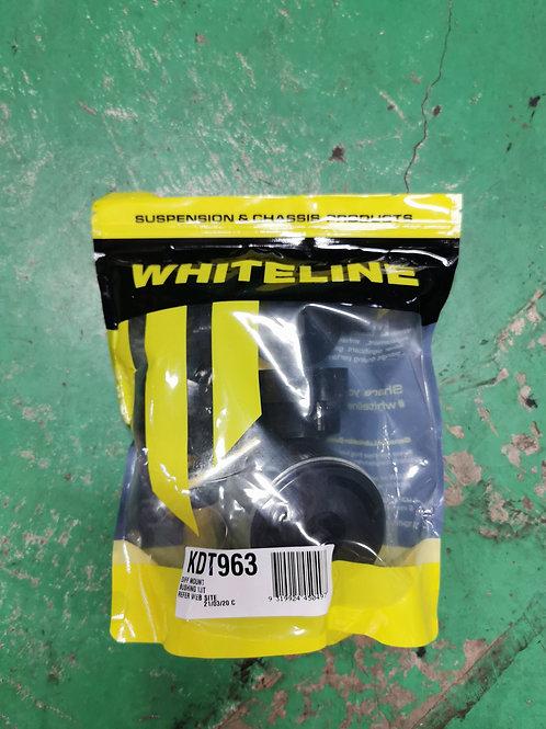 Whiteline Evolution X rear differential hardened bush kit 3pc set