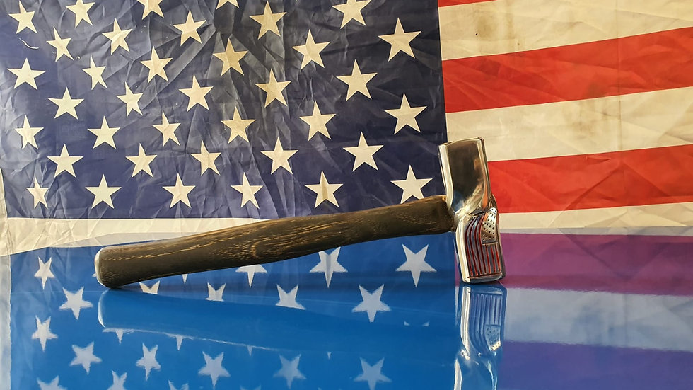 American Flag Bench Hammer