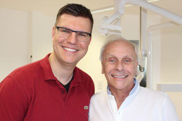 Dr. Dziedo (links), Dr. Passow (rechts)