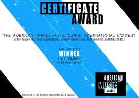 American Tracks Music Awards
