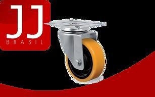 JJ Brasil - Produtos para Andaime Multidirecional   Rodízio de Borracha