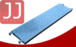JJ Brasil - Produtos para Andaime Multidirecional   Piso Metálico
