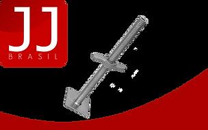 JJ Brasil - Produtos para Andaime Fachadeiro | Placa (Sapata) de Base Ajustável