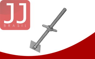 JJ Brasil - Produtos para Andaimes Tubulares | Placa (Sapata) de Base Ajustável
