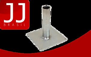 JJ Brasil - Produtos para Andaime Fachadeiro | Placa (Sapata) de Base Fixa